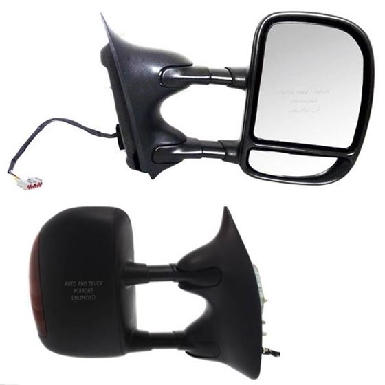 00-05 Ford Excursion and 01-07 Ford Super Duty Pickup Passenger Side Mirror Assembly