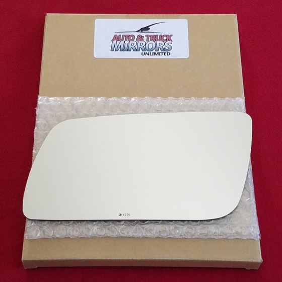 Mirror Glass + ADHESIVE for 09-12 Ford Flex Driver