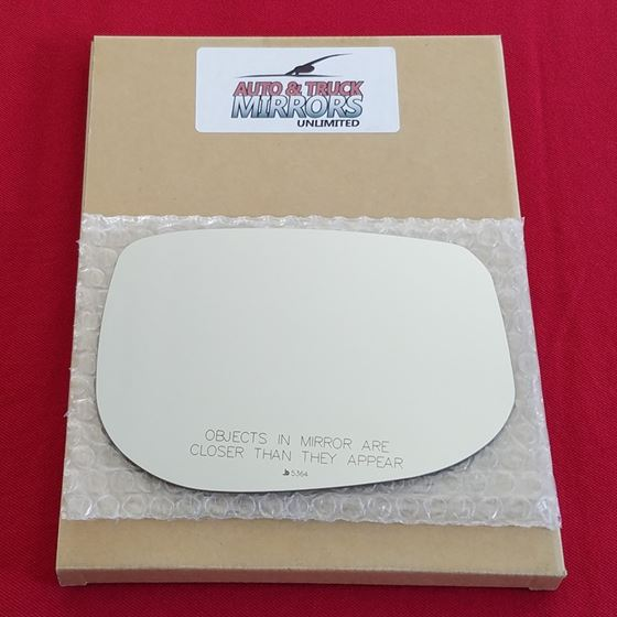 Mirror Glass + Adhesive for 09-14 Honda Fit Passen