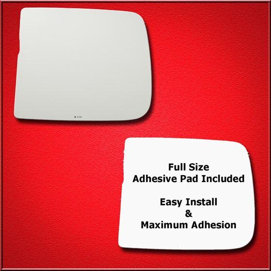 Mirror Glass + Full Adhesive for Ram 1500, 2500, 3