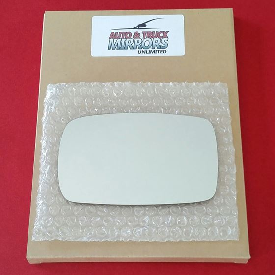 Mirror Glass + ADHESIVE for 95-00 Ford Contour, Mi