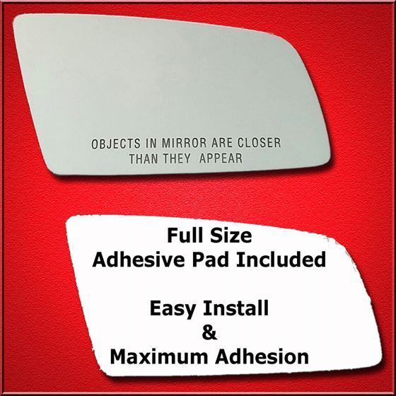 Mirror Glass Replacement + Full Adhesive for 04-08