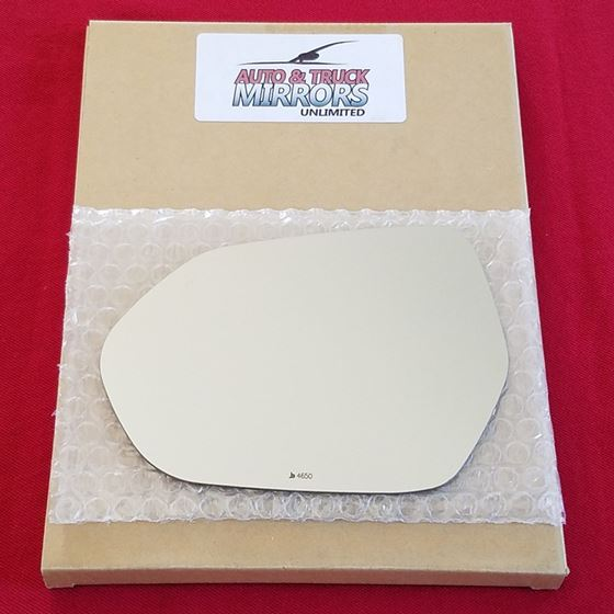 Mirror Glass + ADHESIVE for 16-18 Toyota Prius Dri