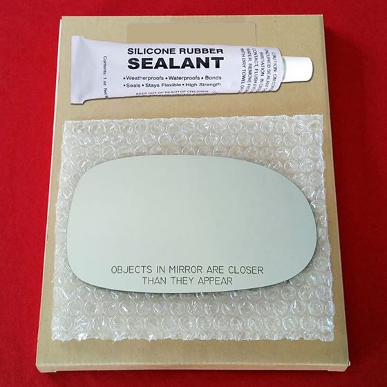 Mirror Glass Replacement + Silicone Adhesive for I