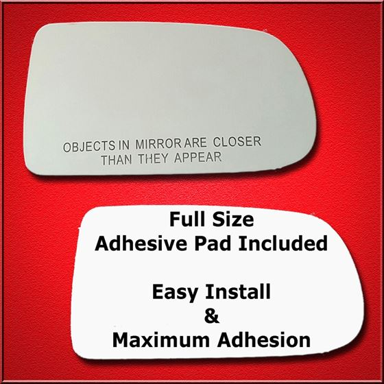 Mirror Glass Replacement + Full Adhesive for 97-03