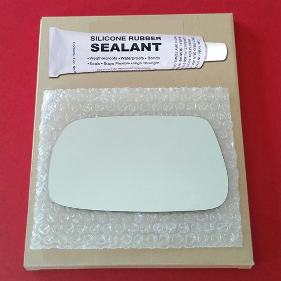 Mirror Glass Replacement + Silicone Adhesive for T