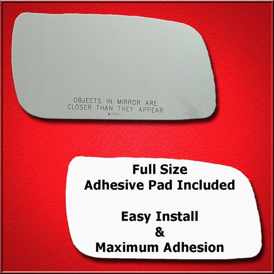 Mirror Glass Replacement + Full Adhesive for 08-09