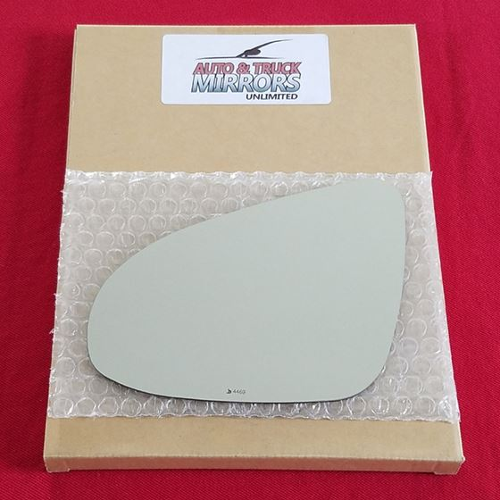 Mirror Glass for 12-18 Toyota Prius C Driver Side
