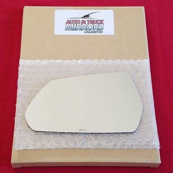 Mirror Glass + ADHESIVE for 16-18 Chevrolet Camaro