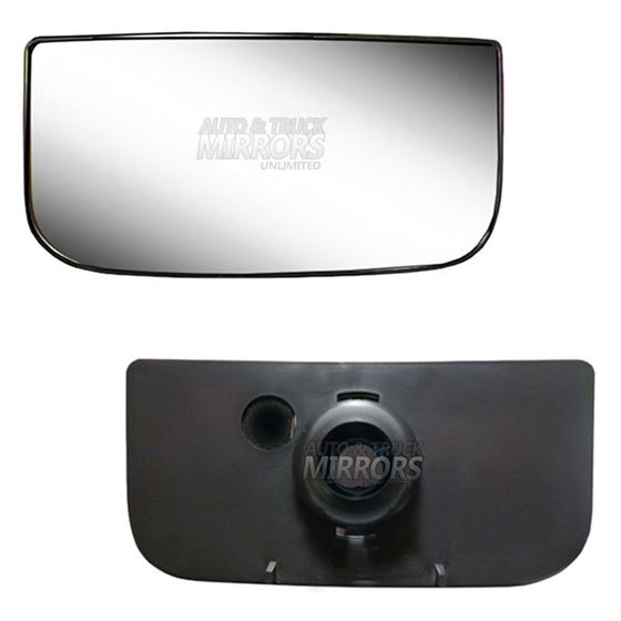 Fits 00-14 GMC Yukon Driver Side Mirror Glass with