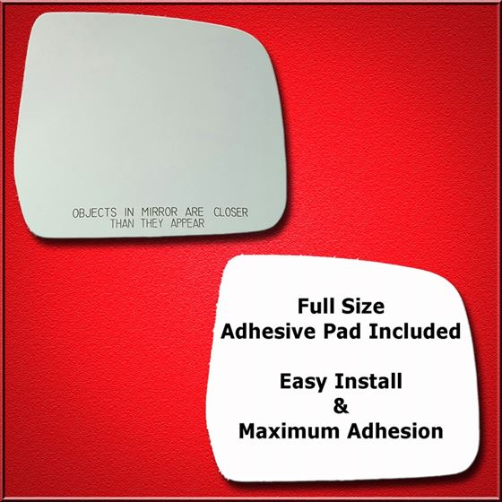 Mirror Glass Replacement + Full Adhesive for 96-99