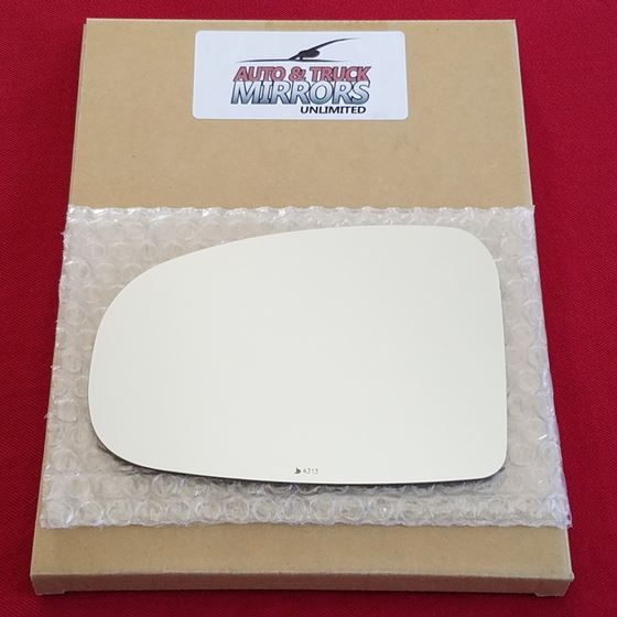 Mirror Glass + ADHESIVE for 10-14 Toyota Prius Dri
