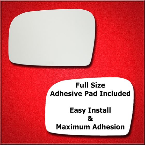 Mirror Glass Replacement + Full Adhesive for 08-11
