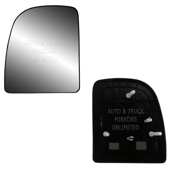 Fits 02-14 Ford Econoline Driver Side Mirror Glass