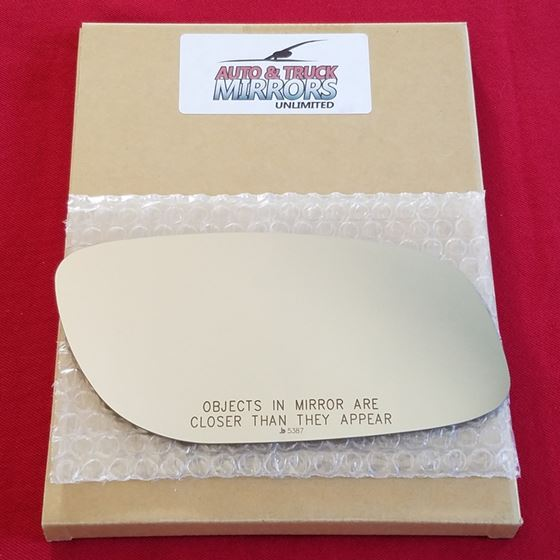 Mirror Glass + ADHESIVE for 10-14 Ford Taurus Pass