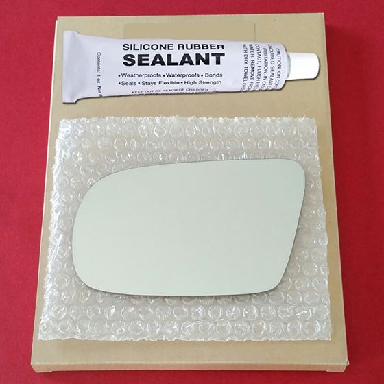 Mirror Glass Replacement + Silicone Adhesive for G