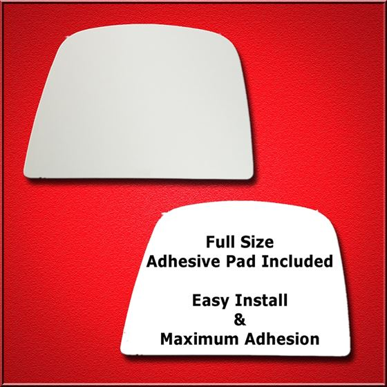 Mirror Glass Replacement + Full Adhesive for 08-17