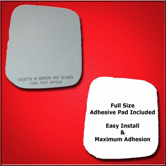 Mirror Glass Replacement + Full Adhesive for 97-04