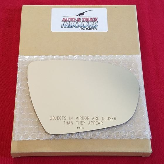 Mirror Glass + ADHESIVE for 11-13 Kia Optima Passe