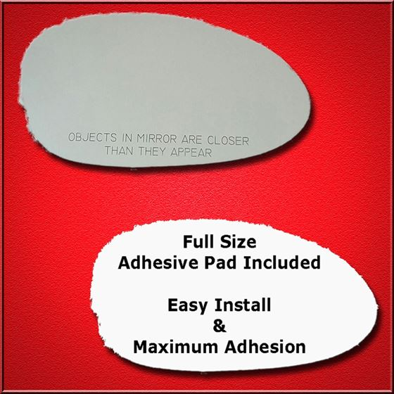 Mirror Glass Replacement + Full Adhesive for BMW Z
