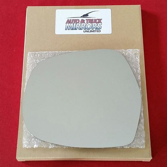 Mirror Glass + ADHESIVE for 03-09 Lexus GX470 Driv