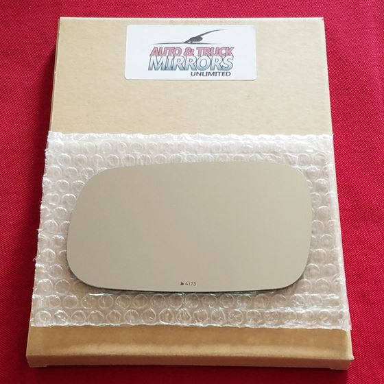 Mirror Glass + ADHESIVE for 05-06 Saab 9-2X Driver
