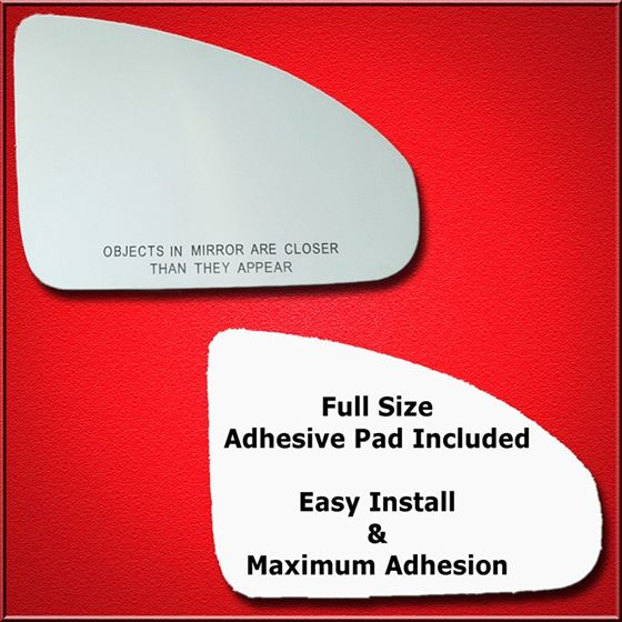 Mirror Glass Replacement + Full Adhesive for 03-08