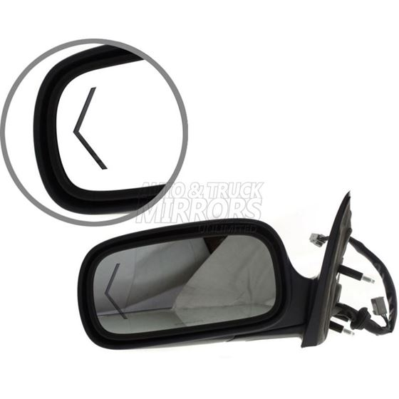 Fits 06-09 Cadillac DTS Driver Side Mirror Repla-3