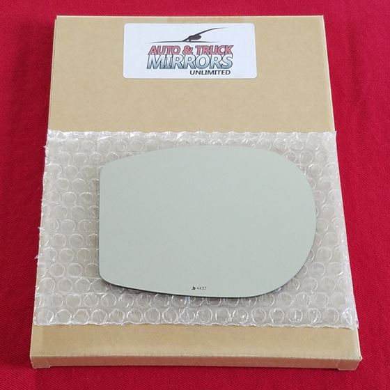 Mirror Glass for 12-17 Fiat 500 Driver Side Replac