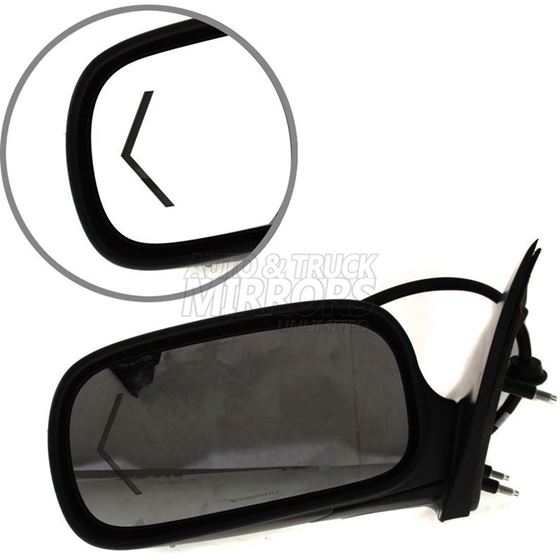 Fits 06-08 Cadillac DTS Driver Side Mirror Repla-3
