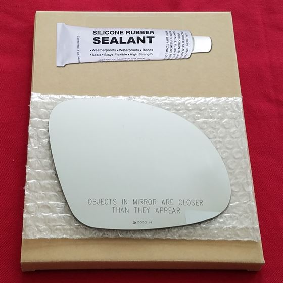 Mirror Glass + Silicone Adhesive for 09-17 Volkswa