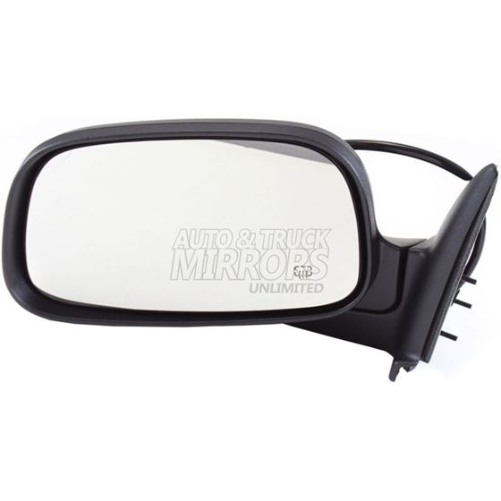 Replacement Passenger Side Power View Mirror Fits Dodge Dakota Heated, Foldaway
