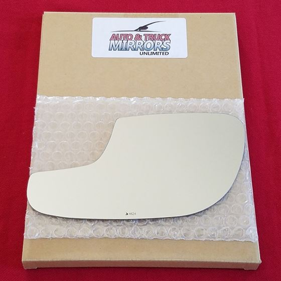 Mirror Glass + ADHESIVE for 12-18 Ford Taurus Driv
