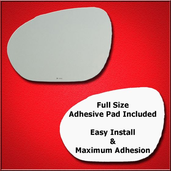 Mirror Glass Replacement + Full Adhesive for Nissa