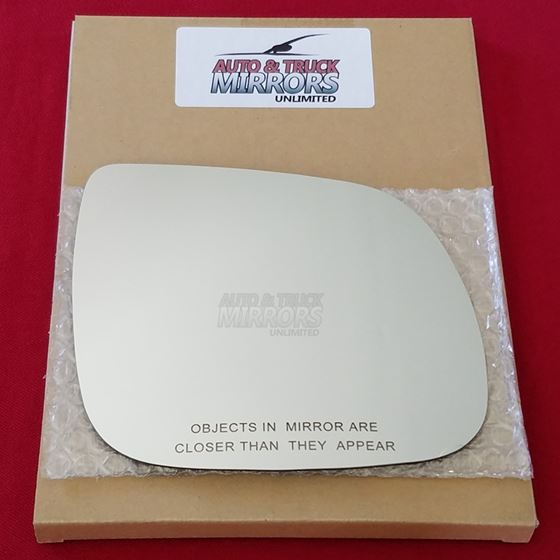Mirror Glass + ADHESIVE for 07-14 Audi Q7 Passenge