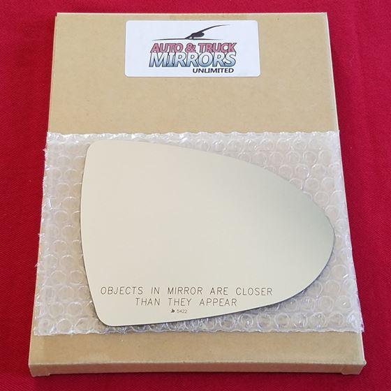 Mirror Glass + ADHESIVE for 11-16 Kia Sportage Pas