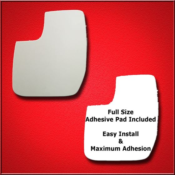 Mirror Glass Replacement + Full Adhesive for E-150