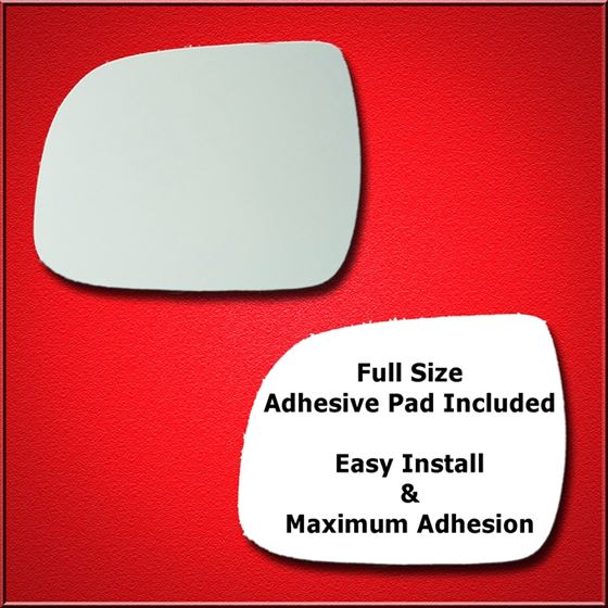 Mirror Glass Replacement + Full Adhesive for 08-13
