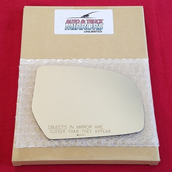 Mirror Glass + ADHESIVE for 10-14 Subaru Legacy,Ou