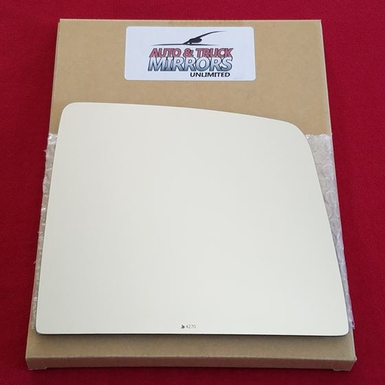 Mirror Glass + ADHESIVE for 10-18 Toyota Tundra Pa