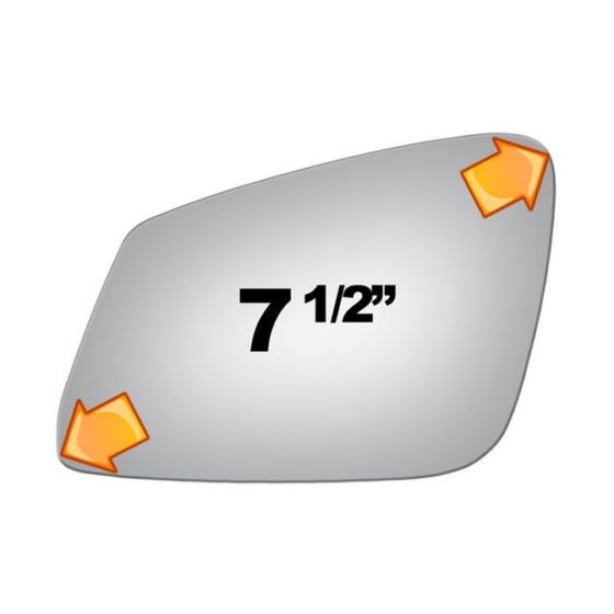 Mirror Glass for BMW 2, 3, 4, 5, 6 Series Driver-3