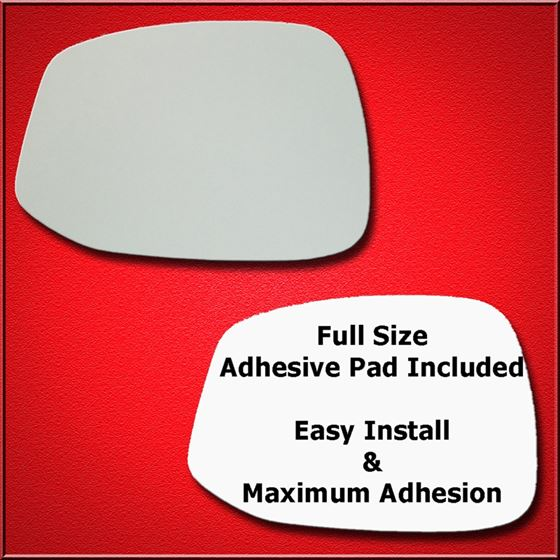 Mirror Glass Replacement + Full Adhesive for 12-13