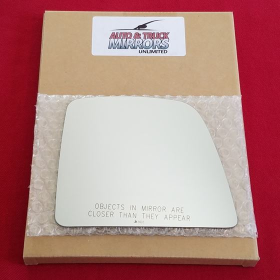 Mirror Glass + ADHESIVE for 14-18 Ford Transit Con