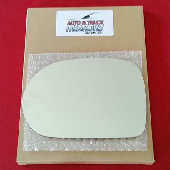 Mirror Glass + ADHESIVE for 02-05 Kia Sedona Drive