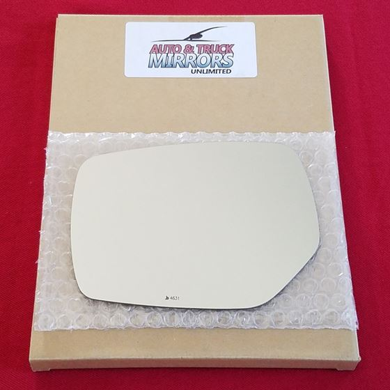 Mirror Glass + ADHESIVE for 15-16 Subaru Legacy Dr