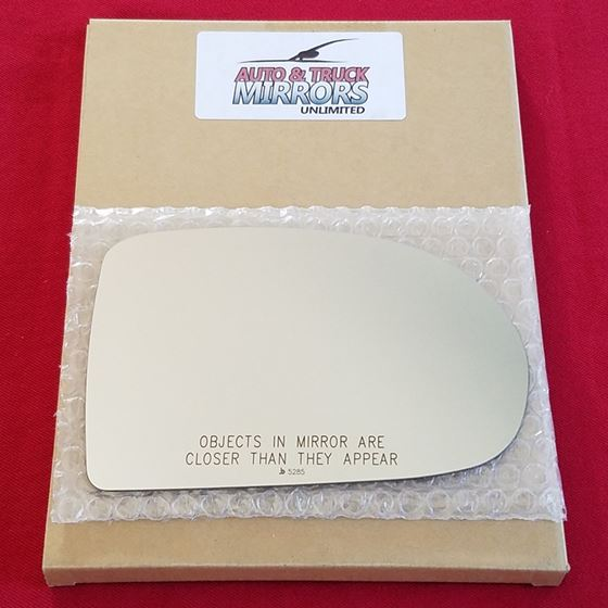 Mirror Glass + ADHESIVE for 07-17 Jeep Compass Pas