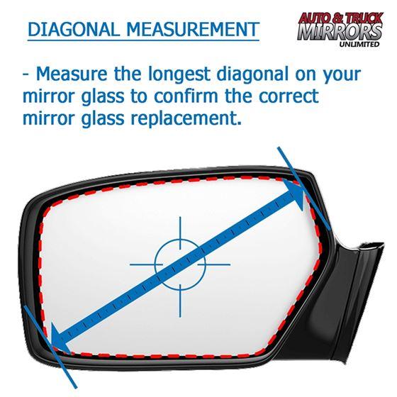 Driver Side For BMW 228I 320I 320I 328I 335I M235I Door Mirror Glass New