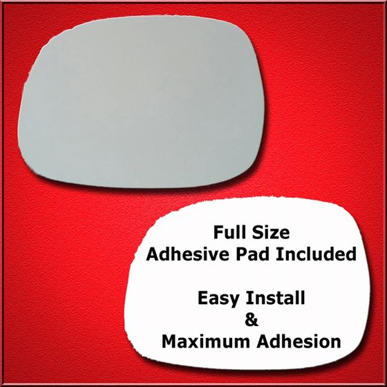 Mirror Glass Replacement + Full Adhesive for 01-07