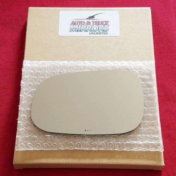 Mirror Glass + ADHESIVE for Volvo C30, C70, S40, S