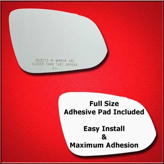 Mirror Glass Replacement + Full Adhesive for Rav4,